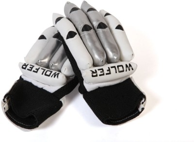 Wolfer Club Batting Gloves (Boys, Silver)