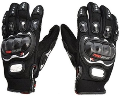 Bike World BW11 Riding Cycling Gloves (L, Black)