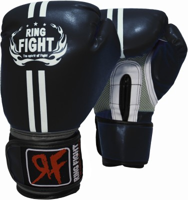 Ring Fight Pro Boxing Gloves (Youth, Black)
