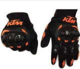 meenu arts KTM-L-001 Riding Gloves (L, B...