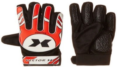 Vector X Practice Goalkeeping Gloves (S, Red, White, Black)