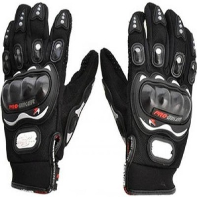 Joynix PRO BIKER Riding Gloves (XL, Black)