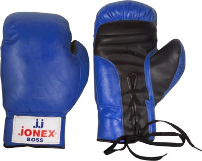 JJ JONEX SUPERIOR QUALITY training Boss Boxing Gloves (Youth, Blue)