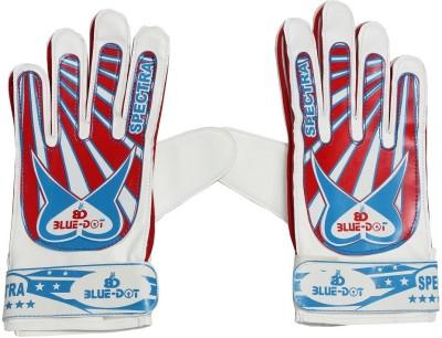 Blue dot spectra Goalkeeping Gloves (Free Size, Multicolor)