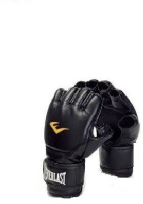 Everlast Grappling Boxing Gloves (S, Black)
