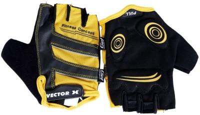 Vector X VX 580 Gym & Fitness Gloves (M, Yellow, Black)
