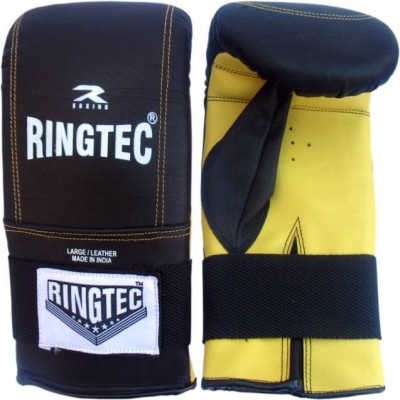 Ringtec RS-302-11 Boxing Gloves (M, Black)