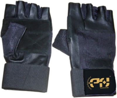 Personal Health Workout Gym & Fitness Gloves (L, Black)