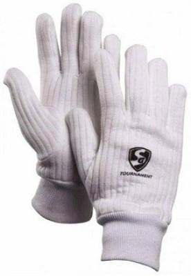 SG Tournament Batting Gloves (Men, White)