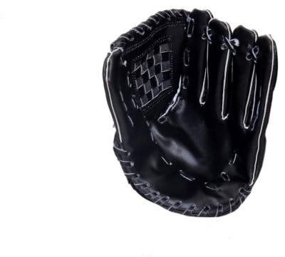 CW Split Leather Baseball Gloves (Men, Black)