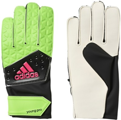 Adidas Ace Young Pro Goalkeeping Gloves (Free Size, Green)