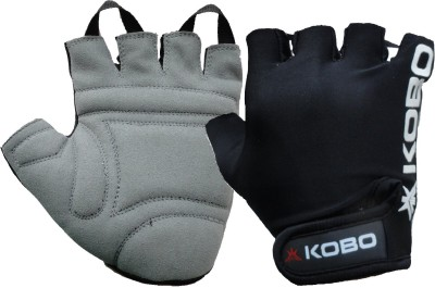 Kobo WTG-05 Gym & Fitness Gloves (L, Black)