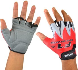 Kobo CG-01 Cycling Gloves (XL, Red)