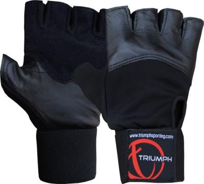 Triumph Scorpion Gym & Fitness Gloves (L, Black)