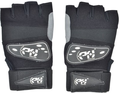 Personal Health AI- Real Gym & Fitness Gloves (XL, Black)