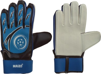 Maizo Web (Assorted) Football Gloves (M, Blue, Black)