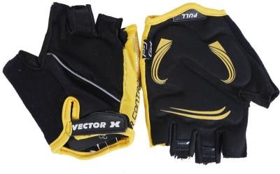 Vector X VX 590 Gym & Fitness Gloves (M, Yellow, Black)
