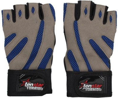 Tenstar Torrido Gym & Fitness Gloves (Free Size, Multicolor)