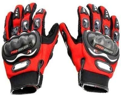 Pro Biker Bike Racing Riding Gloves (XXL, Red)