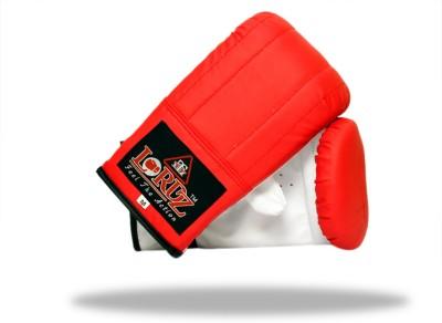 Lordz PVC Bag Boxing Gloves (M, Red, Blue)