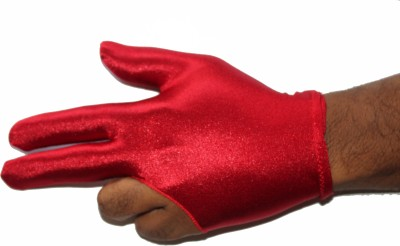 Billiedge Club Gym & Fitness Gloves (Free Size, Red)