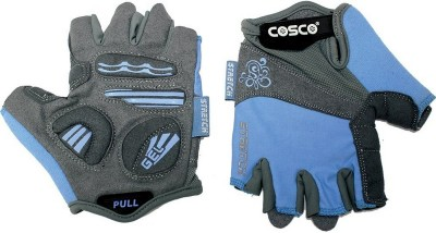 Cosco Stretch 28073-3 Gym & Fitness Gloves (L, Multicolor)