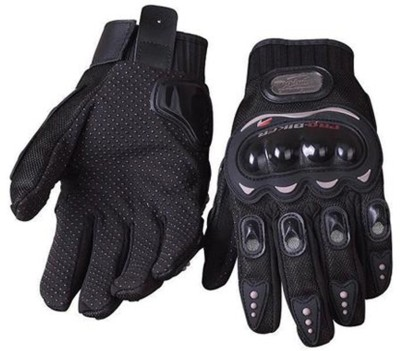 Pro Biker Full Figer Riding Gloves (XXL, Black)