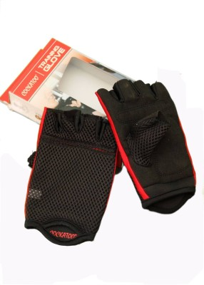 Krazy Fitness Exotic Gym & Fitness Gloves (Free Size, Black)
