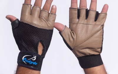 Prokyde Hit Gym & Fitness Gloves (M, Brown)