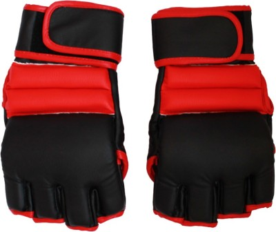 Sekaido CUTFINGERGLOVESFG06 Boxing Gloves (XL, Red, Black)