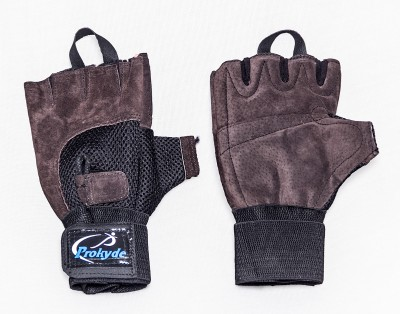 Prokyde Slam Gym Gym & Fitness Gloves (XL, Brown)