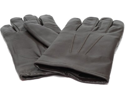 Matrix Leather Gym & Fitness Gloves (M, Brown)