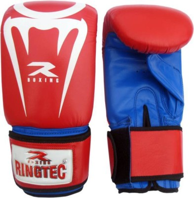 Ringtec RS-302-01 Boxing Gloves (S, Red)