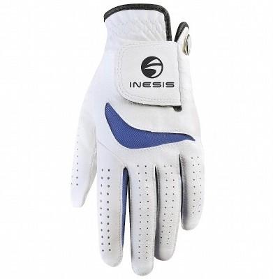 Inesis Gant Junior Golf Gloves (M, White, Blue)