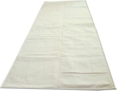 Lnt 400TC Portable and Washable mat Solid Yoga White 1 mm