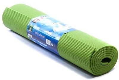 shivamconcepts mat + bag Yoga, Exercise & Gym Green 6 mm
