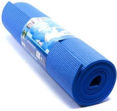shivamconcepts mat + bag Yoga Blue 4 mm