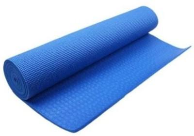 Shiv Fabs Best Quality Mat 4mm Yoga Blue 4 mm