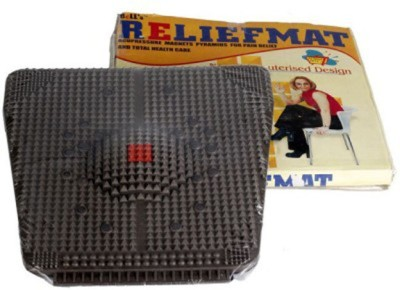 Divinext Acupressure Mat with Magnets Pyramids for Pain Relief Golf Black 5 mm