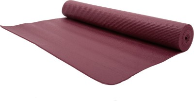 Relax Fitness Mat-6mm Exercise & Gym, Yoga Brown 6 mm