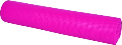 AmazingHind Mat with cover Exercise & Gym, Yoga Pink 6 mm
