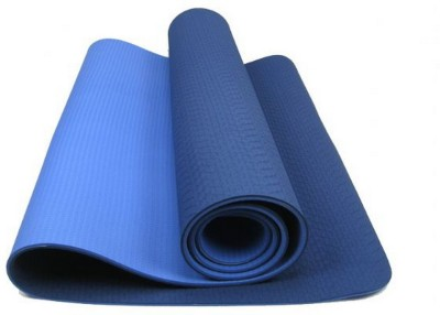 Neo Gold Leaf Eco Friendlt Tpe Yogamat 04 Yoga Blue, Lightblue 6 mm