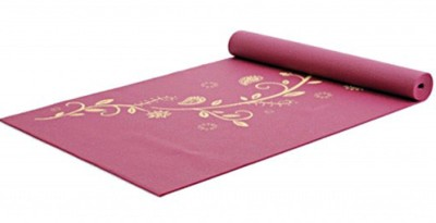 Yogistar Indian Flower Yoga Bordo Mat 4 mm