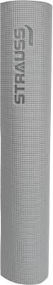 Strauss Yoga Mat Yoga Grey 6 mm