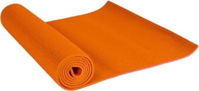 Shiv Fabs Best Quality Mat 4mm Yoga Orange 4 mm