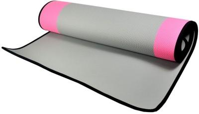 Reebok Version For Fithub Eco Grey, Pink 6 mm Yoga Mat
