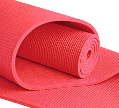 Pasricha Sports And Fitness Anti Skid Exercise & Gym, Yoga Red 6 mm