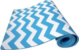 Aerolite ZIG ZAG Yoga, Exercise & Gym Light, Blue 12 mm