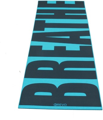 RVX Fashionable Printed Mat For Yoga, Exercise & Gym Grey 5 mm