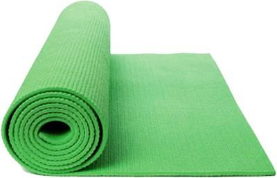 shivamconcepts mat + bag Yoga Green 4 mm
